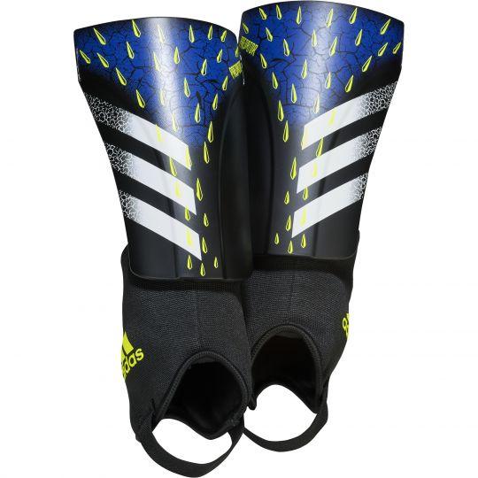 adidas Predator Match Scheenbeschermers Zwart Wit Geel
