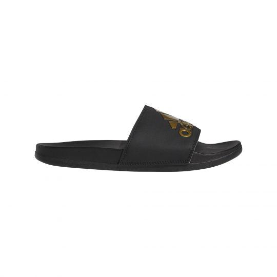 adidas Adilette Comfort Slippers Zwart Goud