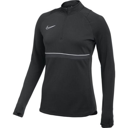Nike Academy 21 Trainingstrui Dri-Fit Vrouwen Zwart Wit Antraciet