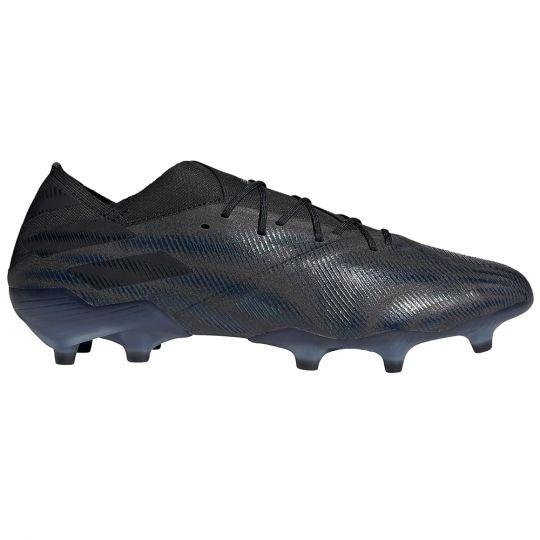 adidas Nemeziz.1 Gras Voetbalschoenen (FG) Zwart