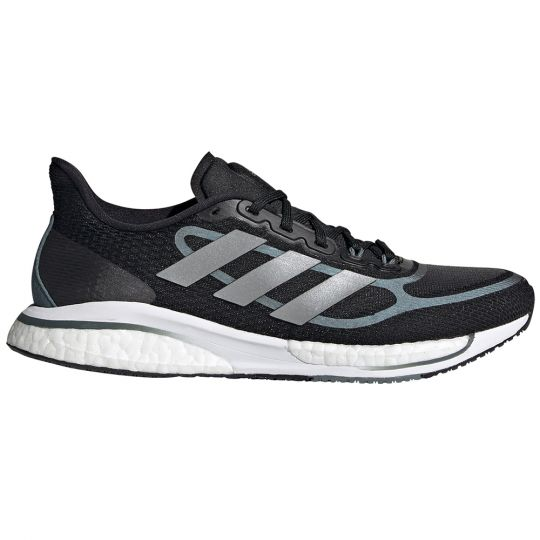 adidas SUPERNOVA + Hardloopschoenen Vrouwen Zwart Zilver Grijs