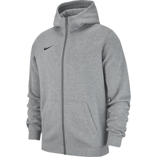 Nike Hoodie Full Zip Fleece Kids Donkergrijs