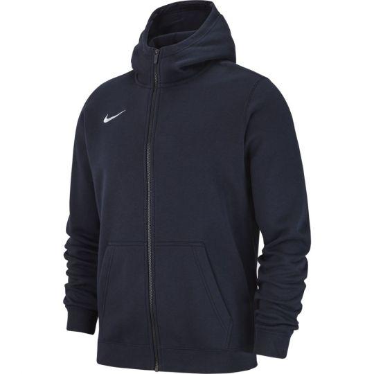 Nike Hoodie Full Zip Fleece Donkerblauw Kids