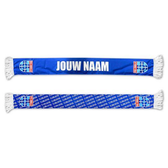PEC Zwolle Clubliefde Sjaal (Fleece) Gepersonaliseerd