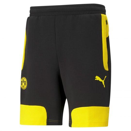 PUMA Borussia Dortmund Evostripe Trainingsbroekje 2021 Geel Zwart