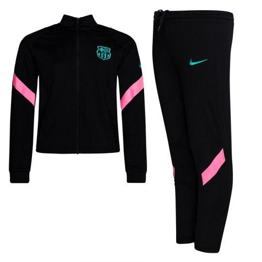 Nike FC Barcelona Dry Strike Trainingspak 2020-2021 CL Peuters Zwart Roze