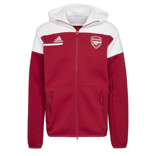 adidas Arsenal Anthem Jack 2020-2021 Rood