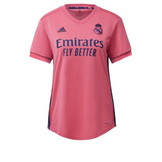 adidas Real Madrid Uitshirt 2020-2021 Dames