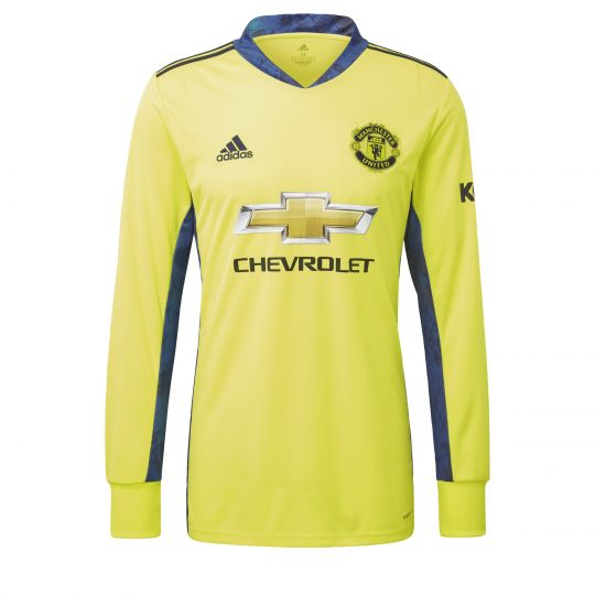 adidas Manchester United Keepersshirt Uit 2020-2021 Geel