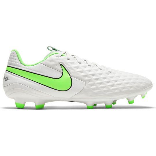 Nike Tiempo Legend 8 Academy Gras / Kunstgras Voetbalschoenen (MG) Platinum Groen