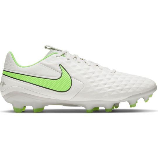 Nike Tiempo Legend 8 Pro Gras Voetbalschoenen (FG) Platinum Groen