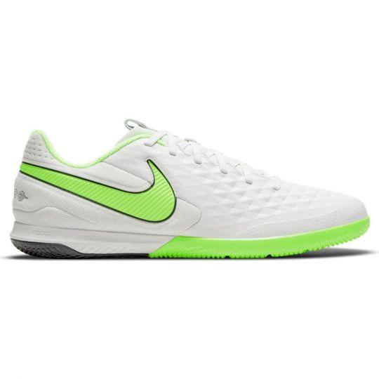 Nike Tiempo React Legend 8 Pro Zaalvoetbalschoenen (IC) Platinum Groen