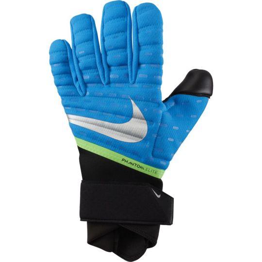 Nike Phantom Elite Keepershandschoenen Blauw Zwart Zilver