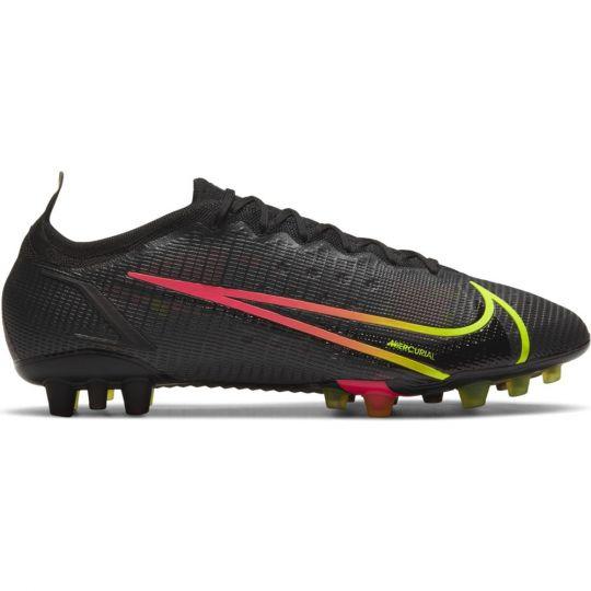 Nike Mercurial Vapor 14 Elite Kunstgras Voetbalschoenen (AG) Zwart Geel