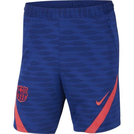 Nike FC Barcelona Strike Trainingsbroekje 2021 Blauw Rood