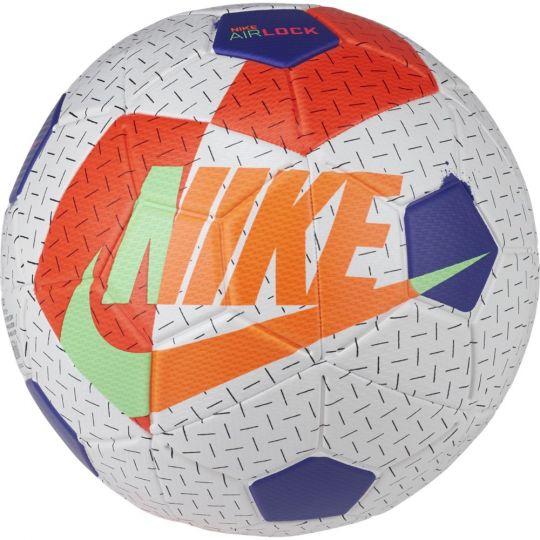 Nike Airlock Street X Voetbal Maat 5 Wit Oranje Rood Blauw