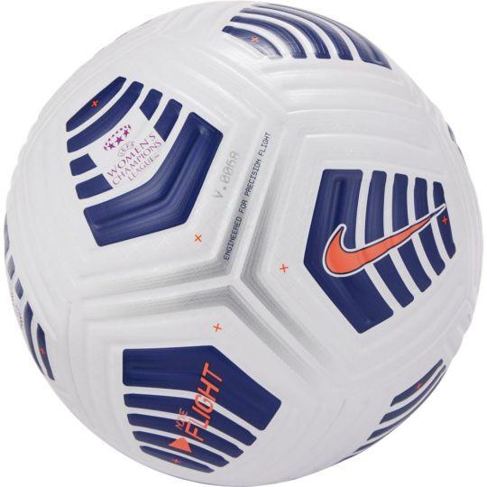 Nike Flight Elite UEFA Womens Champions League Officiële Voetbal Maat 5 Wit Blauw
