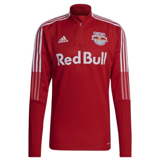 adidas New York Red Bulls Trainingstrui 2021-2022 Rood Wit