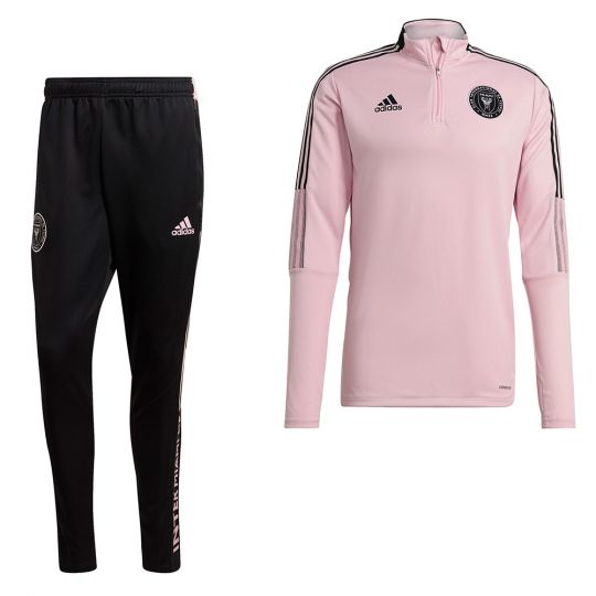 adidas Inter Miami CF Trainingspak 2021-2022 Roze Zwart