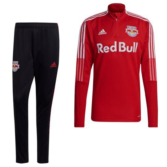 adidas New York Red Bulls Trainingspak 2021-2022 Rood