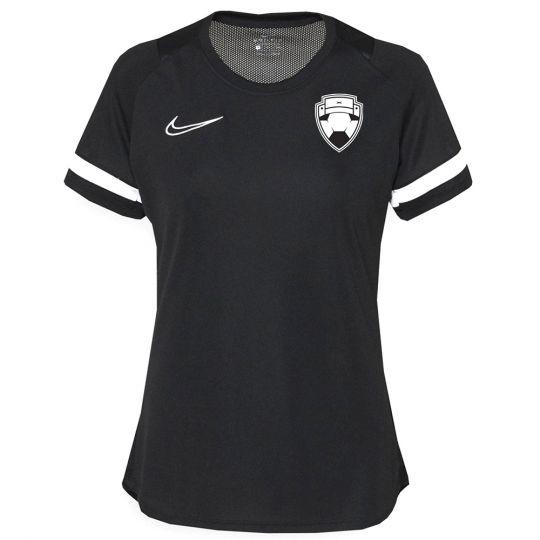 Nike Bankzitters Trainingsshirt Vrouwen Zwart Wit