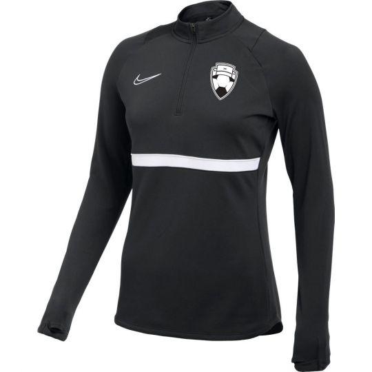 Nike Bankzitters Trainingstrui Vrouwen Zwart Wit