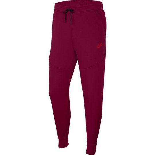 Nike Tech Fleece Jogger Trainingsbroek Donkerrood Felrood