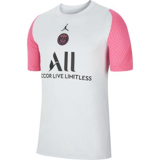Nike Paris Saint Germain Strike Trainingsshirt 2021 Platinum Roze Zwart
