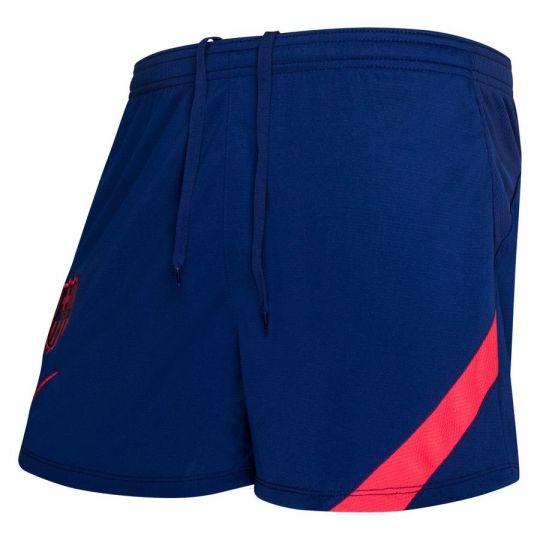 Nike FC Barcelona Academy Pro Trainingsbroekje 2021 Vrouwen Blauw Rood