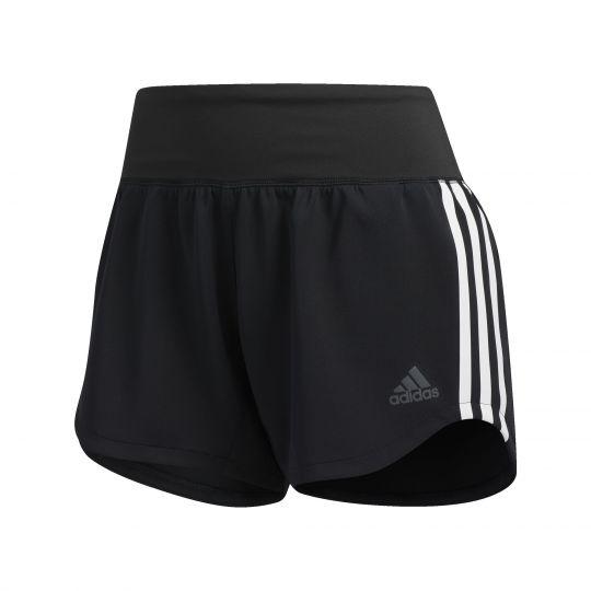 adidas 3-Stripes Gym Short Dames Zwart
