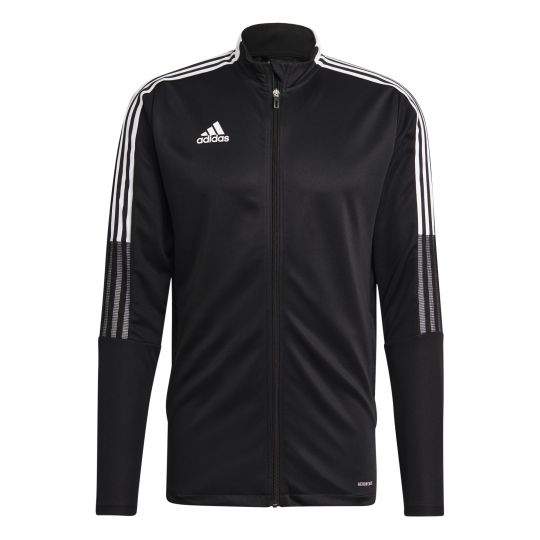 adidas Tiro 21 Trainingsjack Zwart Wit