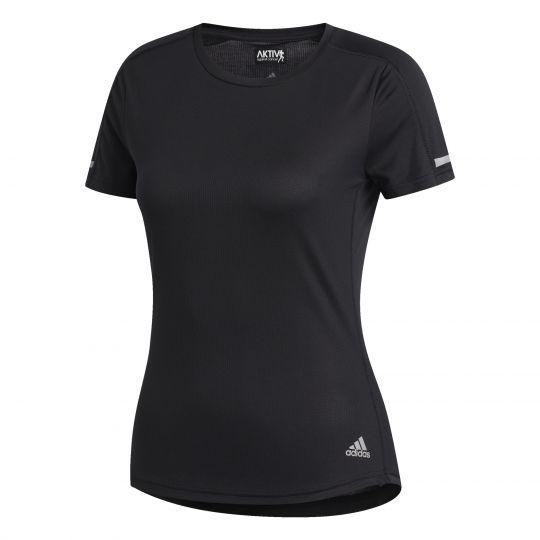 adidas Run It T-shirt Dames Zwart
