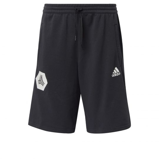 adidas TAN Sweat Logo Short Dames Zwart