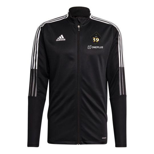adidas Team 39 Trainingsjack Zwart Wit