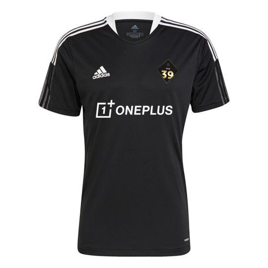 adidas Team 39 Trainingsshirt Zwart Wit