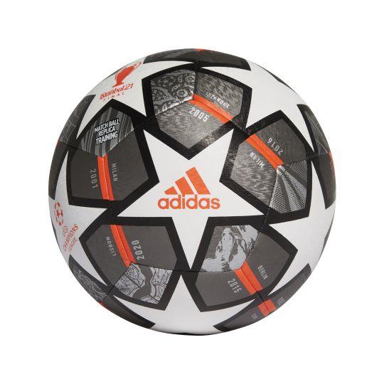 adidas Champions League Finale 21 Training Voetbal Maat 5 Wit Donkergrijs Zwart
