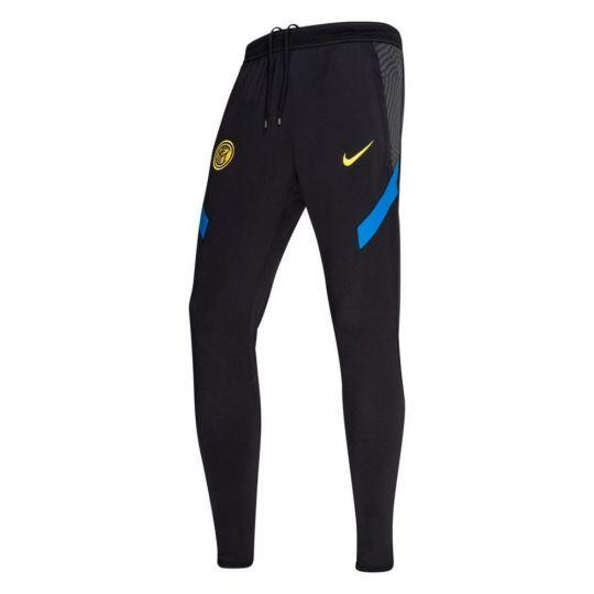 Nike Inter Milan Dry Strike Trainingsbroek KP 2020-2021 Zwart