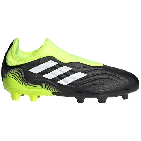 adidas Copa Sense.3 LL Gras Voetbalschoenen (FG) Kids Zwart Wit Geel