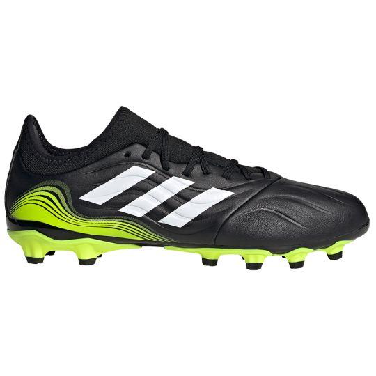 adidas Copa Sense.3 Gras / Kunstgras Voetbalschoenen (MG) Zwart Wit Geel
