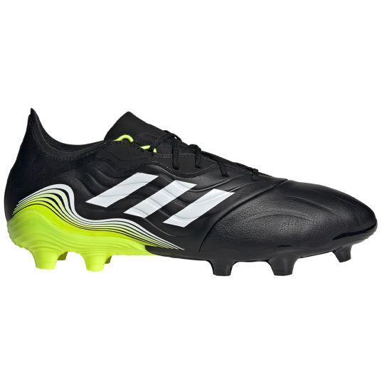 adidas Copa Sense.2 Gras Voetbalschoenen (FG) Zwart Wit Geel