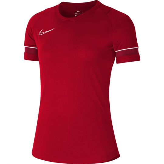 Nike Academy 21 Dri-Fit Trainingsshirt Vrouwen Rood Wit Rood