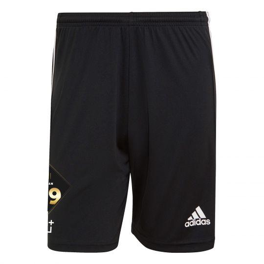 adidas Team 39 Trainingsbroekje Zwart Wit