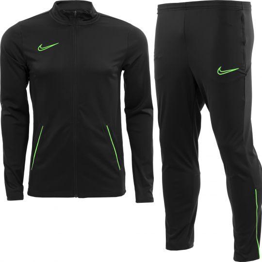Nike Dri-FIT Academy 21 Trainingspak Kids Zwart Groen