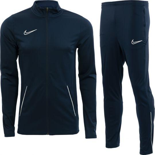 Nike Dri-FIT Academy 21 Trainingspak Donkerblauw Wit