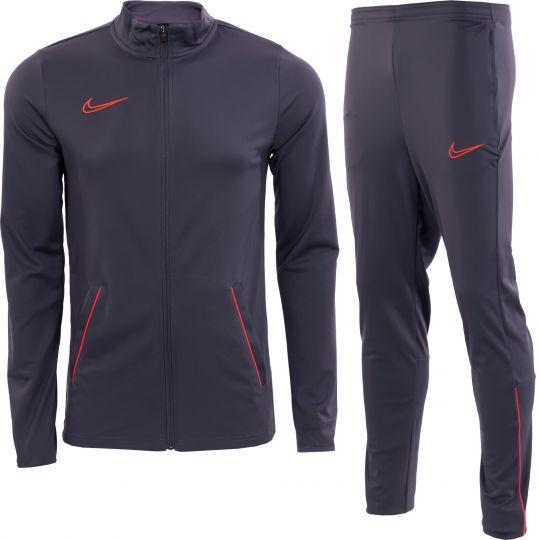 Nike Dri-FIT Academy 21 Trainingspak Paars Rood