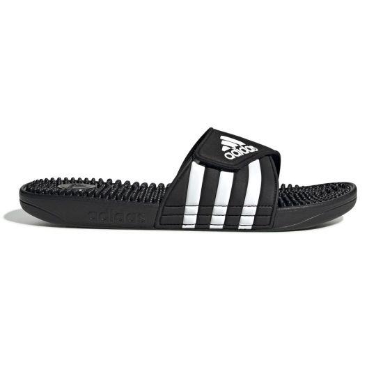 adidas Adissage Badslippers Zwart Wit