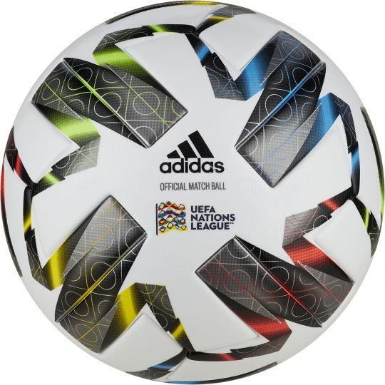 adidas UEFA Nations League Officiële Voetbal Maat 5 Wit Zwart