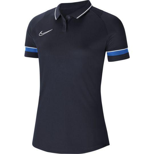 Nike Academy 21 Polo Dri-Fit Vrouwen Blauw
