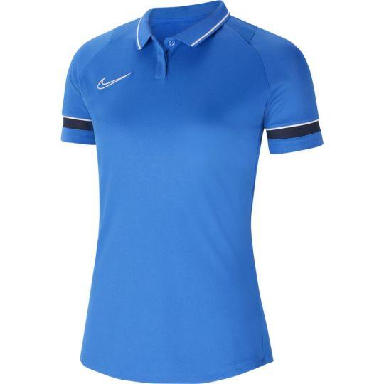 Nike Academy 21 Polo Dri-Fit Vrouwen Royal Blauw