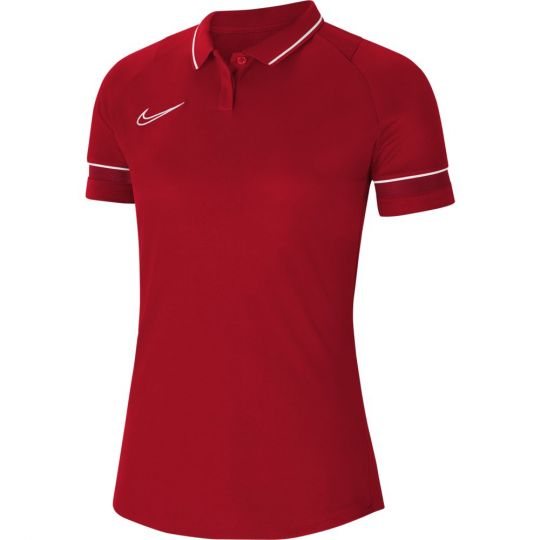 Nike Academy 21 Polo Dri-Fit Vrouwen Rood